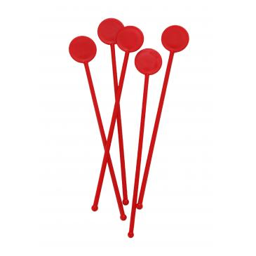 "7"" Cocktail Stirrers - Red"